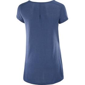 Salomon Ellipse Scoop SS Shirt Women deep cobalt